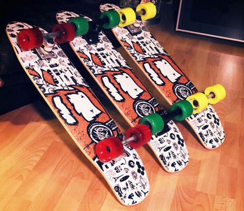 Mata7ik A7ik Cruiser Boards