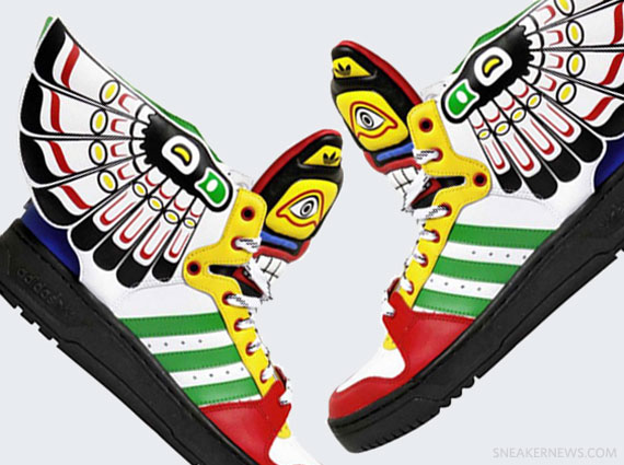 Adidas Jeremy Scott Collection