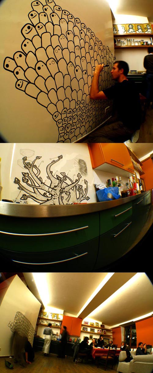 Live painting by Mata7ik