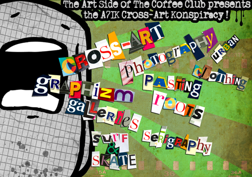 A7ik VS.  The Art Side of the Coffee Clubs!
