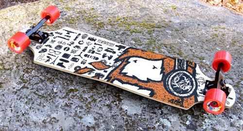 Mata7ik Beard II Ride Longboard