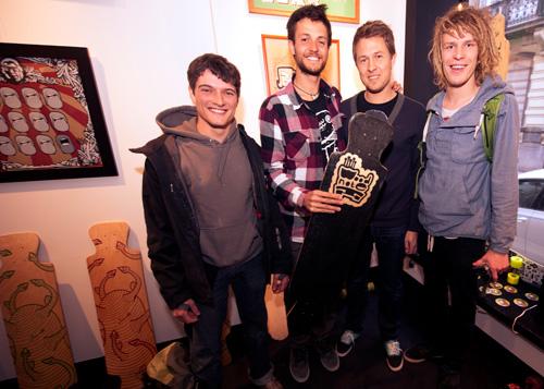 Woodnote Team ! Mata7ik + Cédric Scheers + Bregt + Daan + Danny